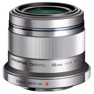 Olympus M.ZUIKO DIGITAL 45 mm f/1.8 Standard Prime Lens