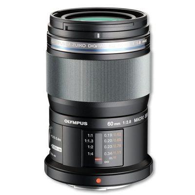 Olympus M.Zuiko Digital ED 60 mm f/2.8 Prime Macro Lens - Black