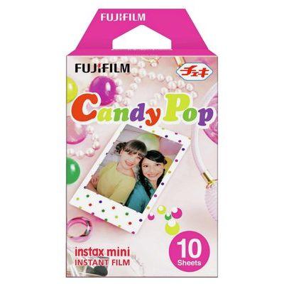 Fujifilm Instax Mini Photo Film Paper 10 Shot Pack - Candypop