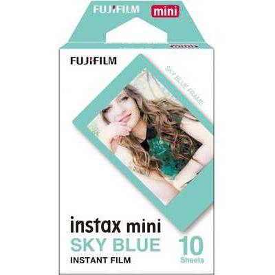 Fujifilm instax Mini Border Film 10 Shots - Blue