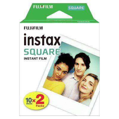 Fujifilm Instax Square Instant Film 20 Shot Pack