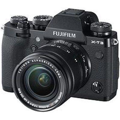 Fujifilm X-T3 Mirrorless Camera with FUJINON XF 18-55 mm f/2.8-4 R LM OIS Lens - Black