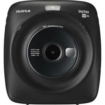 Instax SQUARE SQ20 Digital Instant Camera - Black