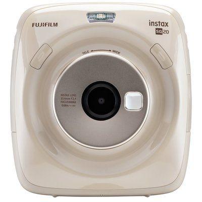 Instax SQUARE SQ20 Digital Instant Camera - Beige, Beige