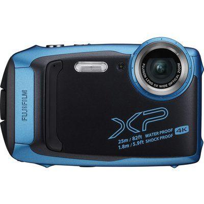 Fujifilm FinePix XP140 Tough Compact Camera - Sky Blue