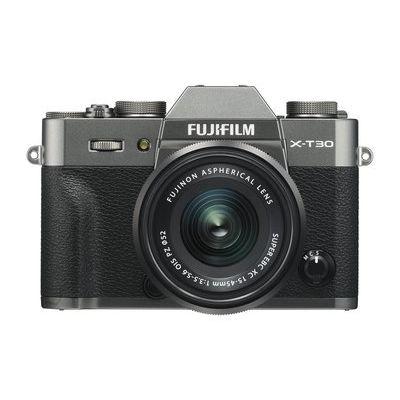Fujifilm X-T30 Camera XC 15-45mm Lens Kit - Charcoal Silver