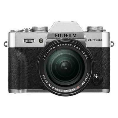 Fujifilm X-T30 Camera XF 18-55mm Lens Kit - Silver