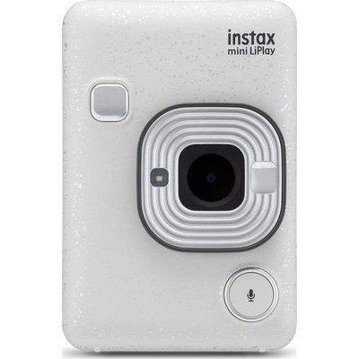 Instax LiPlay Digital Instant Camera - White