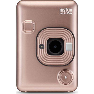 Instax LiPlay Digital Instant Camera - Blush Gold