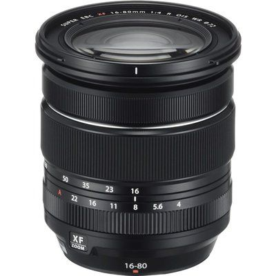 Fujifilm Fujinon XF 16-80 mm f/4 R OIS WR Telephoto Zoom Lens