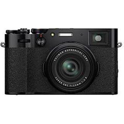 Fujifilm X100V High Performance Compact Camera - Black
