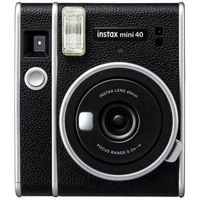 Instax Mini 40 Instant Camera - Black and Silver