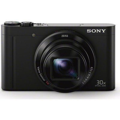 Sony Cyber-shot DSC-WX500B Superzoom Compact Camera - Black