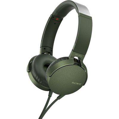 Sony Extra Bass MDR-XB550AP Headphones - Green