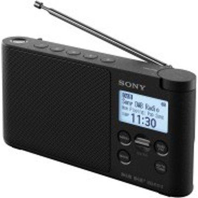 Sony XDR-S41D Portable DAB Clock Radio - Black