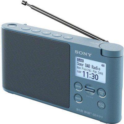 Sony XDR-S41D Portable DAB Clock Radio - Blue