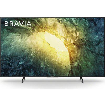 "Sony 65"" BRAVIA KD65X7052PBU Smart 4K Ultra HD HDR LED TV, Sand"