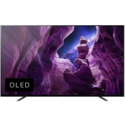 "Sony 55"" BRAVIA KE55A8BU Smart 4K Ultra HD HDR OLED TV with Google Assistant"