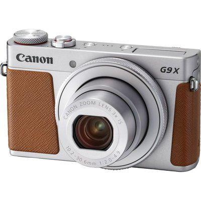 Canon PowerShot G9X MK II High Performance Compact Camera - Silver