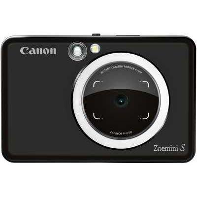 Canon Zoemini S Pocket Size 2-in-1 Instant Camera Printer using Phone App - Matte Black