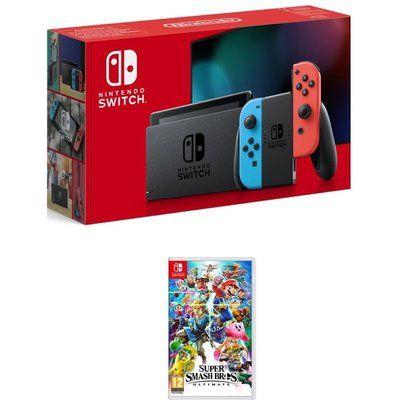 Nintendo Switch Neon & FIFA 20 Bundle, Neon