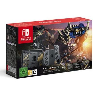 Nintendo Switch 1.1 Monster Hunter Rise Edition Gaming Console