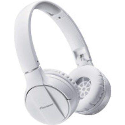 Pioneer SEMJ553BT-W Bluetooth Wireless Headphones