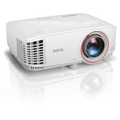 BenQ TH671ST Short Throw Home Entertainment Projector for Video Gaming with Low Input Lag and 3200 ANSI Lumens High Brightness - White