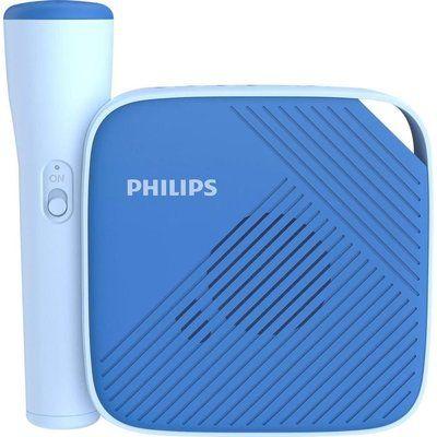 Philips TAS4405N/00 Portable Bluetooth Speaker & Microphone - Blue