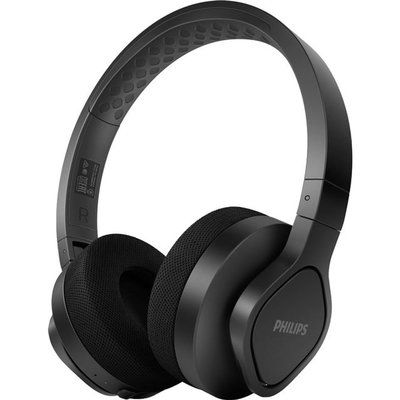 Philips Wireless Sports On Ear Bluetooth Headphones - Black