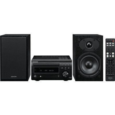 Denon DM-41DAB Wireless Traditional Hi-Fi System - Black