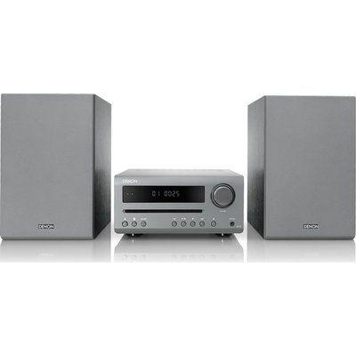Denon DT-1 Bluetooth Traditional Hi-Fi System - Grey
