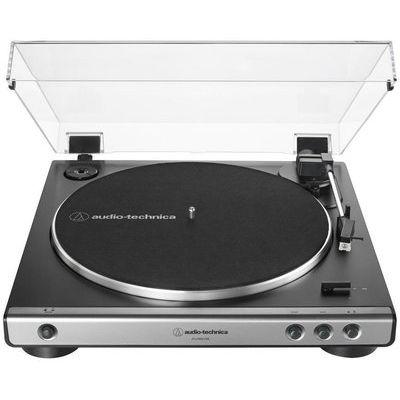 Audio Technica AT-LP60XUSB Belt Drive Turntable - Gun Metal