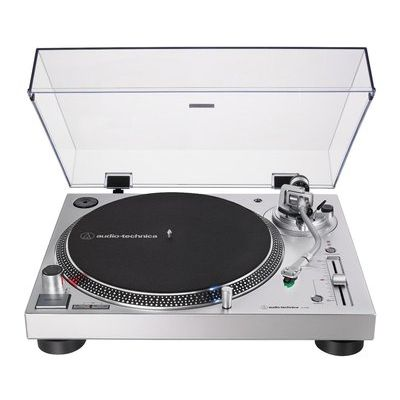 Audio Technica AT-LP120XUSB Direct Drive Turntable - Silver