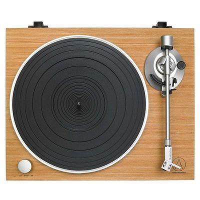 Audio Technica AT-LPW30 Belt Drive Turntable - Wood Teak