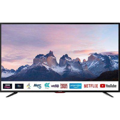 "Sharp 40"" 4T-C40BJ5KF2FB Smart 4K Ultra HD HDR LED TV"