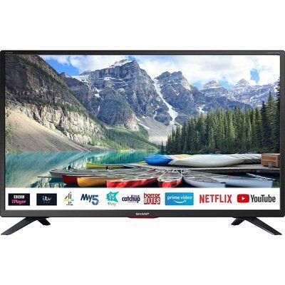 "Sharp 32"" 1T-C32BC5KH2FB Smart HD Ready LED TV"