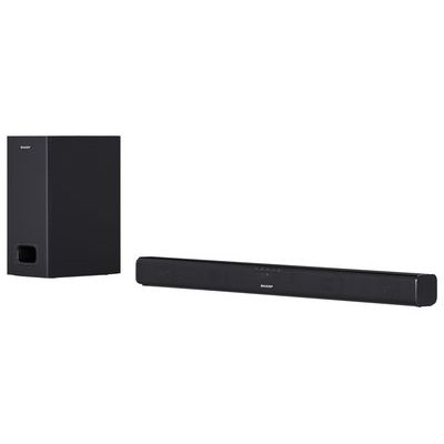 Sharp HT-SBW110 Bluetooth Sound Bar With Wired Sub