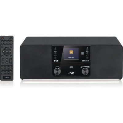 JVC RD-D80 Bluetooth All-in-One Hi-Fi System - Black