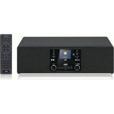JVC RD-D100 Bluetooth All-in-One Hi-Fi System - Black
