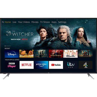 "JVC 65"" LT-65CF890 Fire TV Edition Smart 4K Ultra HD HDR LED TV with Amazon Alexa"