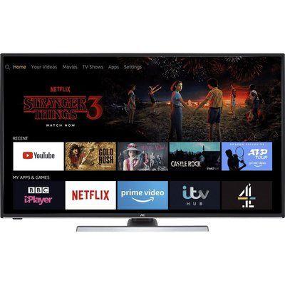 "JVC 50"" LT-50CF890 Fire TV Edition Smart 4K Ultra HD HDR LED TV with Amazon Alexa"