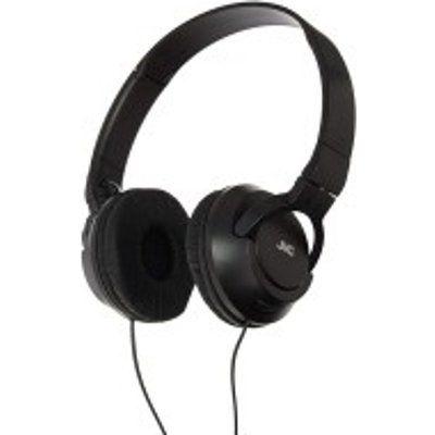 JVC HAS180B Powerful Bass On Ear Headphones
