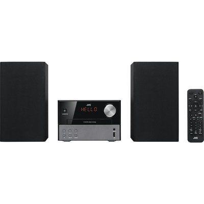 JVC UX-D327B Wireless Traditional Hi-Fi System - Black