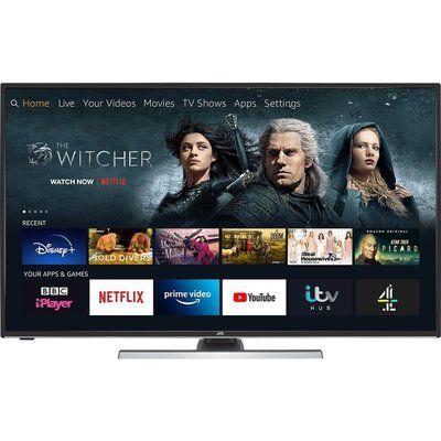 "JVC 55"" LT-55CF890 Fire TV Edition Smart 4K Ultra HD HDR LED TV with Amazon Alexa"