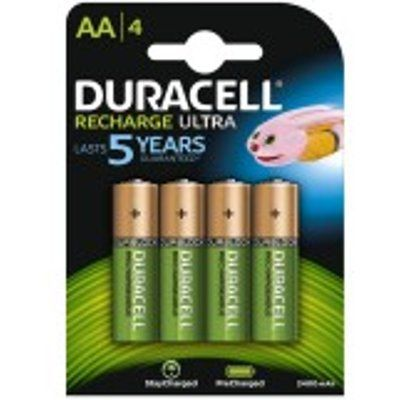 Duracell HR6B4 Stay Charged AA 4x Batteries 2400Mah