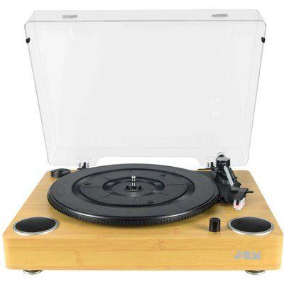 Jam Sound HX-TTP200WDA-GB Belt Drive Turntable - Wood