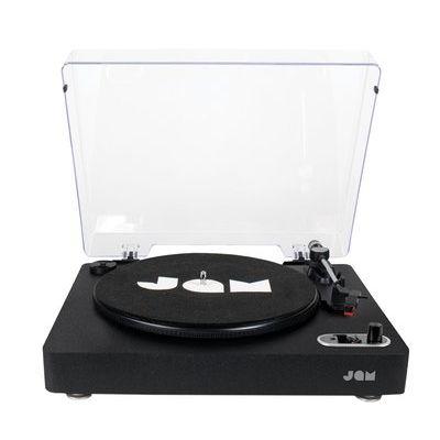 JAM Vinyl Bluetooth Turntable Record Player- Black