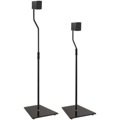 AVF EAK85B Floorstand Tilt & Swivel Speaker Brackets