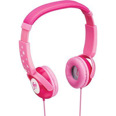 Goji GKIDPNK15 Kids Headphones - Candy Pink